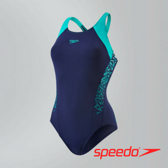 Speedo Women's Boom Splice Racerback Swimsuit