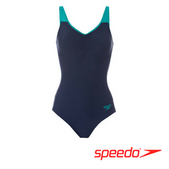 Speedo Women's Essential Clipback Swimsuit