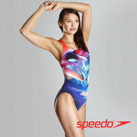 Speedo Women's Solar Surface Powerback Swimsuit