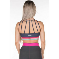 Gym Rocks Women's Rainbow Bra