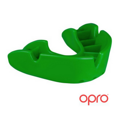 Opro Bronze Mouthguard - Green