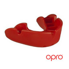 Opro Bronze Mouthguard - Red