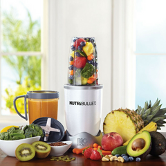 NutriBullet 8 Piece Nutrition Blender / Extractor Set - White