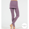 Shakti Shanti Yogawear -  Skirt Leggings Regular Length (Aubergine)