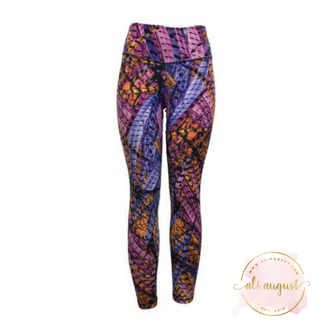 Ali August Leggings Full Flight Exposed Stitch