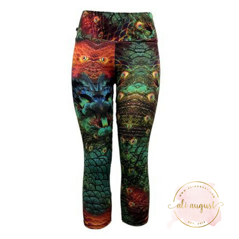 Ali August Hoot Hoot Capri Leggings