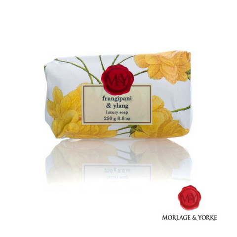 M&Y Frangipani & Ylang wrapped soap