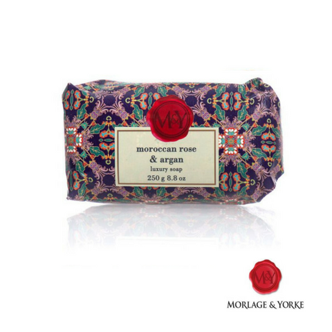 M&Y Moroccan Rose & Argan wrapped soap ( 3 Pack )