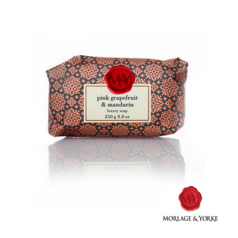 M&Y Pink Grapefruit & Mandarin wrapped soap ( 3 Pack )