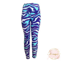Ali August Hypnotic Pattern Leggings