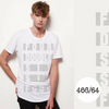 466/64 Legacy Range Men's l/length Brand Stripe Tee