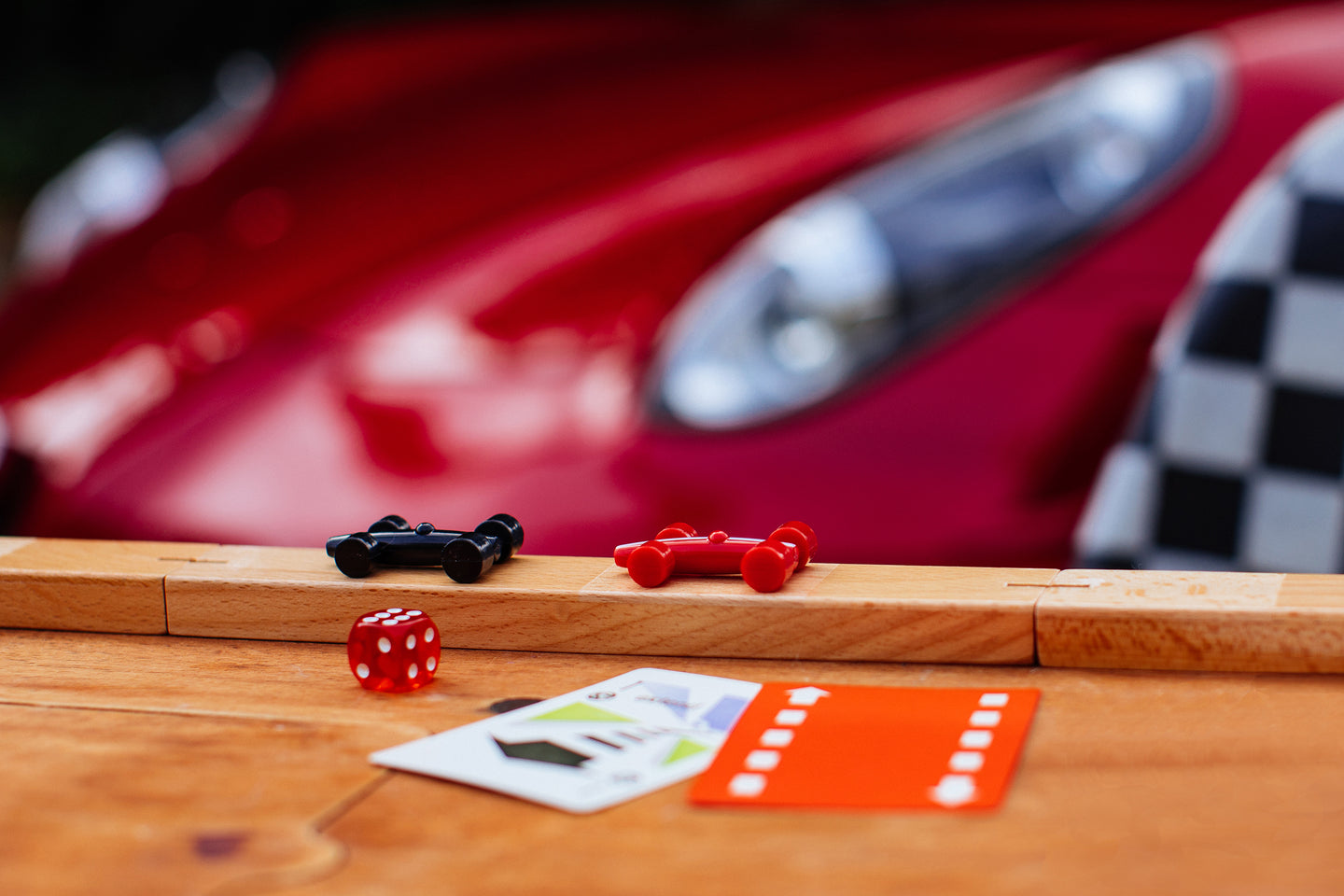 MOTOR RACING BOARD GAME
