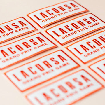 Lacorsa Embroidered Patch - LACORSA Grand Prix Game