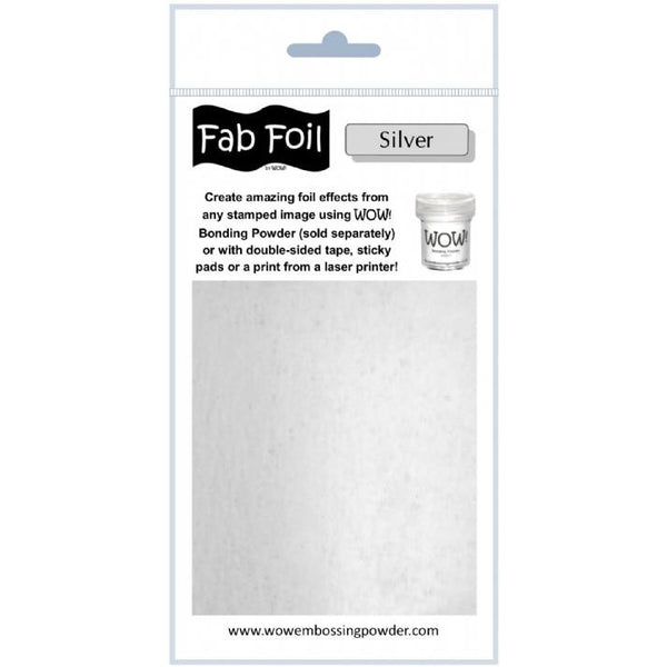 WOW! Fab Foil - Bright Silver - LadyBugCrafts