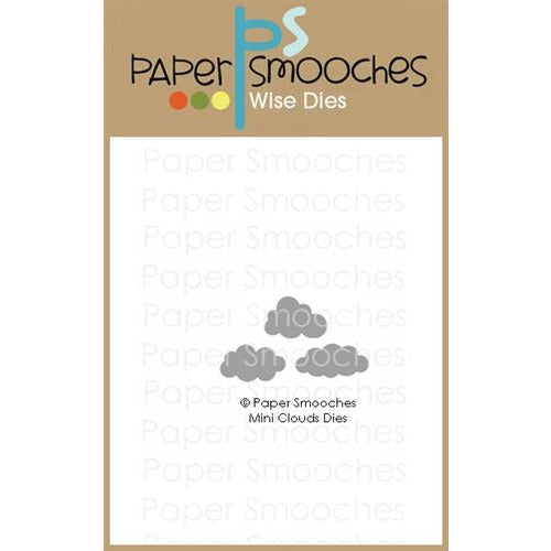 Paper Smooches - Mini Clouds Dies - LadyBugCrafts