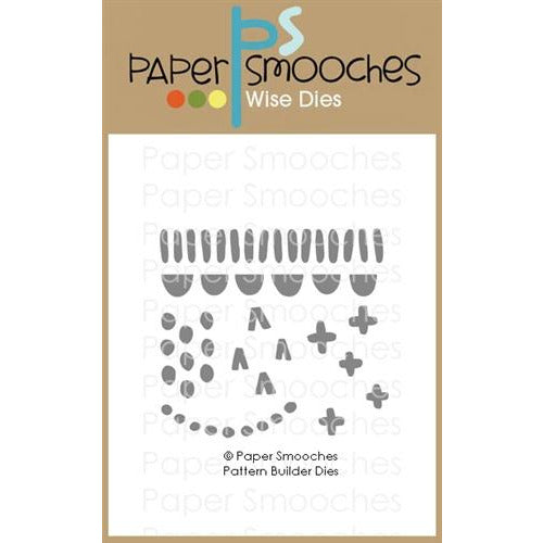 Paper Smooches - Pattern Builder Dies - LadyBugCrafts