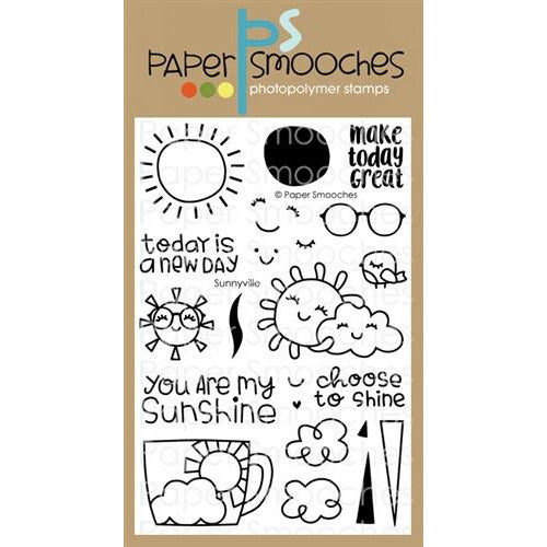 Paper Smooches - Sunnyville Stamp Set - LadyBugCrafts