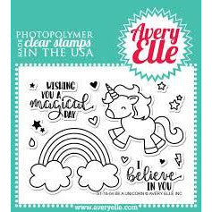Be A Unicorn Stamp - LadyBugCrafts