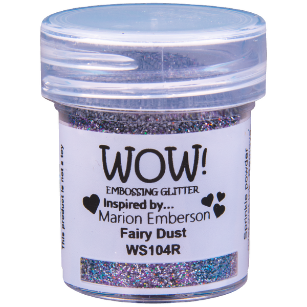 WOW! Fairy Dust Embossing Glitter 15ml - Regular - LadyBugCrafts