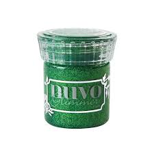 Tonic Nuvo Glimmer Paste - Emerald Green - LadyBugCrafts