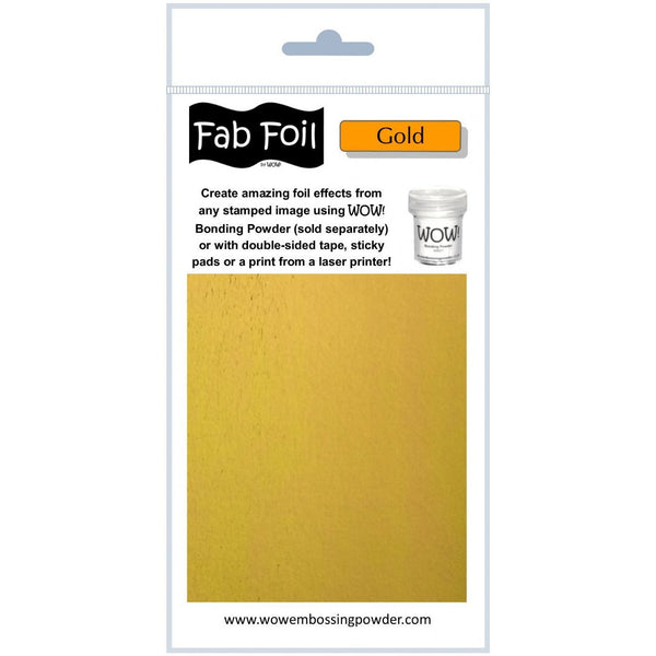 WOW! Fab Foil - Bright Gold - LadyBugCrafts