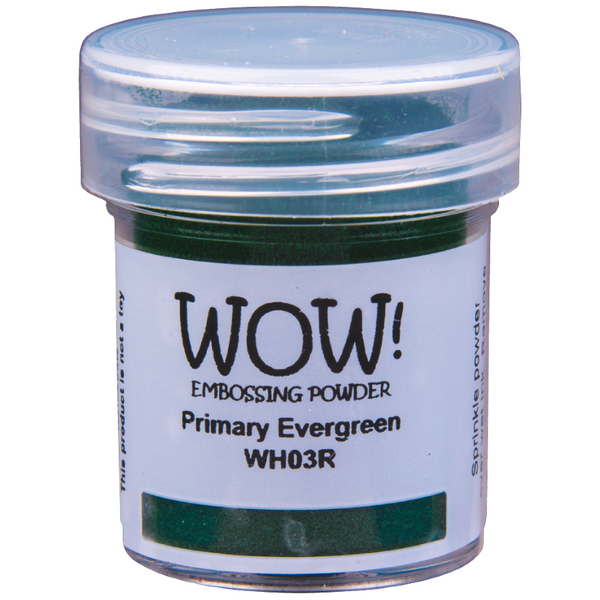 WOW! Primary Evergreen Embossing Powder 15ml - Regular - LadyBugCrafts