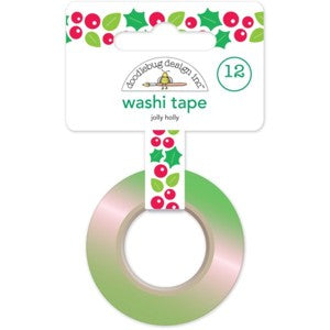 Jolly Holly Washi Tape - LadyBugCrafts