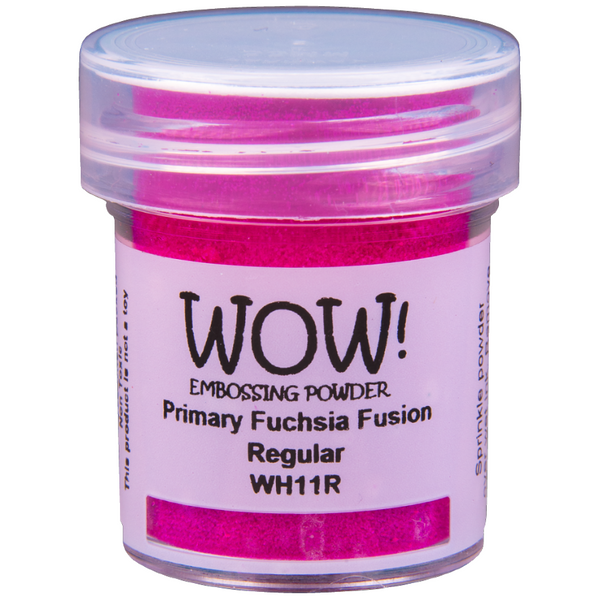 WOW! Fuchsia Fusion Embossing Powder 15ml - Regular - LadyBugCrafts