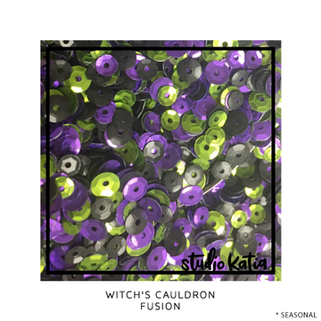 Witch's Cauldron Sequins - LadyBugCrafts