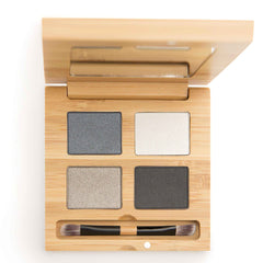 To the moon and black eye shadow quattro - certified organic