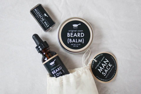 Man Sack All Natural Beard Grooming Kit