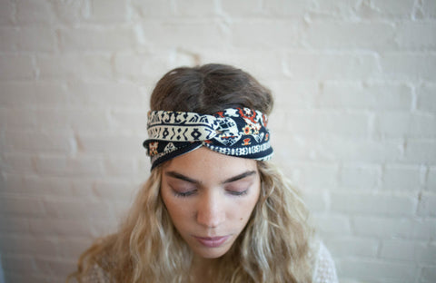 Twist Jersey Knit Headband