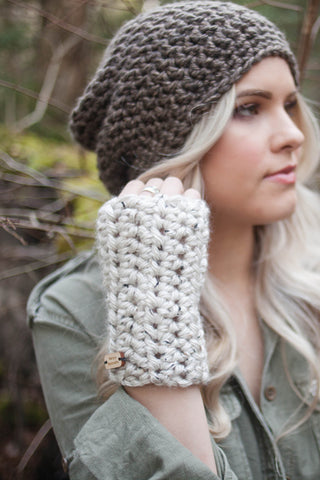 Chunky Knit Fingerless Gloves
