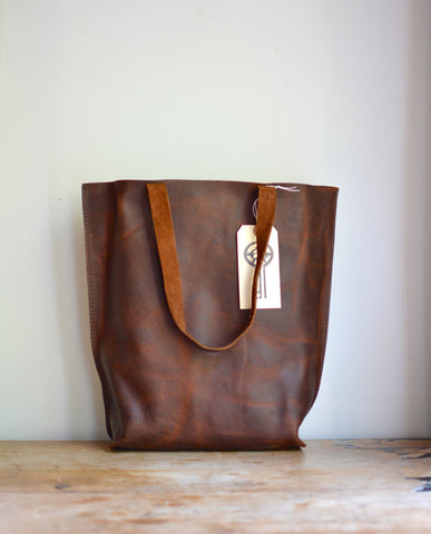 Distressed Market Tote