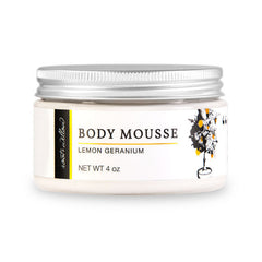Lemon Geranium Body Mousse