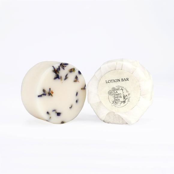 LAVENDER CHAMOMILE LOTION BAR (VEGAN VERSION)
