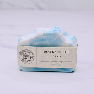 ROSES ARE BLUE SOAP