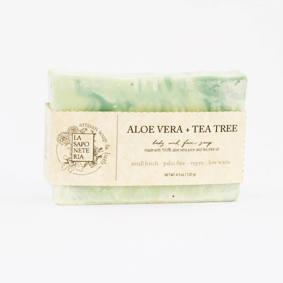 ALOE VERA + TEA TREE OIL SOAP