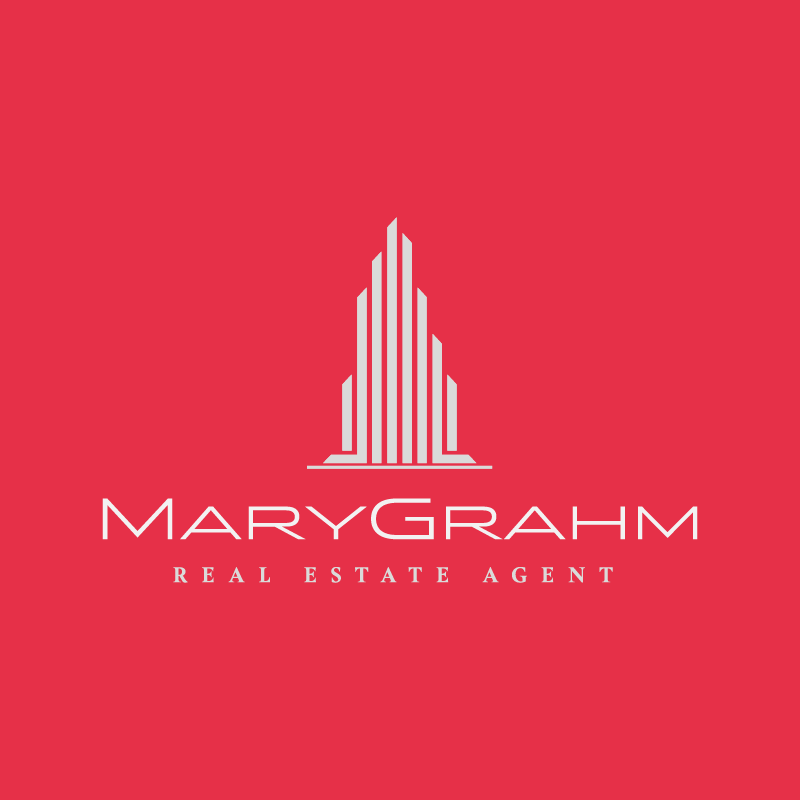 Real Estate Themed Logo 016