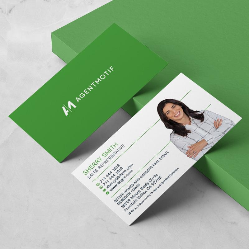 Better Homes and Garden Inspired Business Card Design  001
