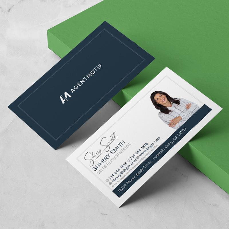 Better Homes and Garden Inspired Business Card Design  021