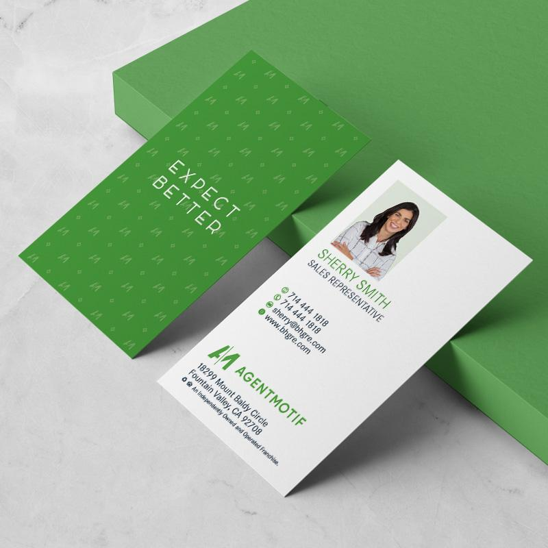 Better Homes and Garden Inspired Business Card Design  035