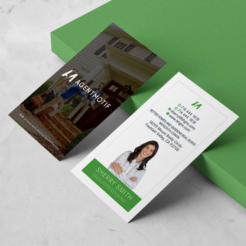 Better Homes and Garden Inspired Business Card Design  047