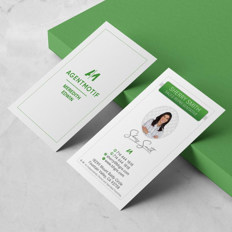 Better Homes and Garden Inspired Business Card Design  060