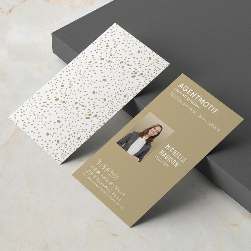 Century 21 Inspired Business Card Design 041
