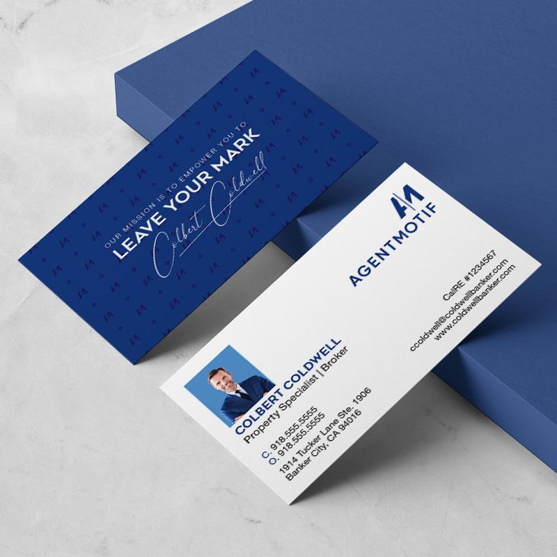 Coldwell Banker Inspired Business Card Design  003