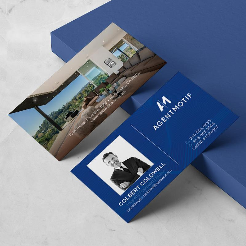 Coldwell Banker Inspired Business Card Design  017