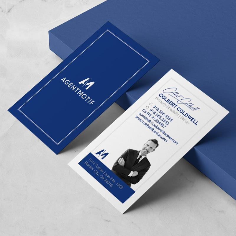 Coldwell Banker Inspired Business Card Design  050