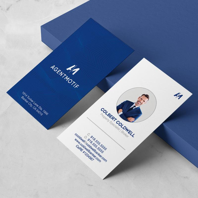 Coldwell Banker Inspired Business Card Design  058