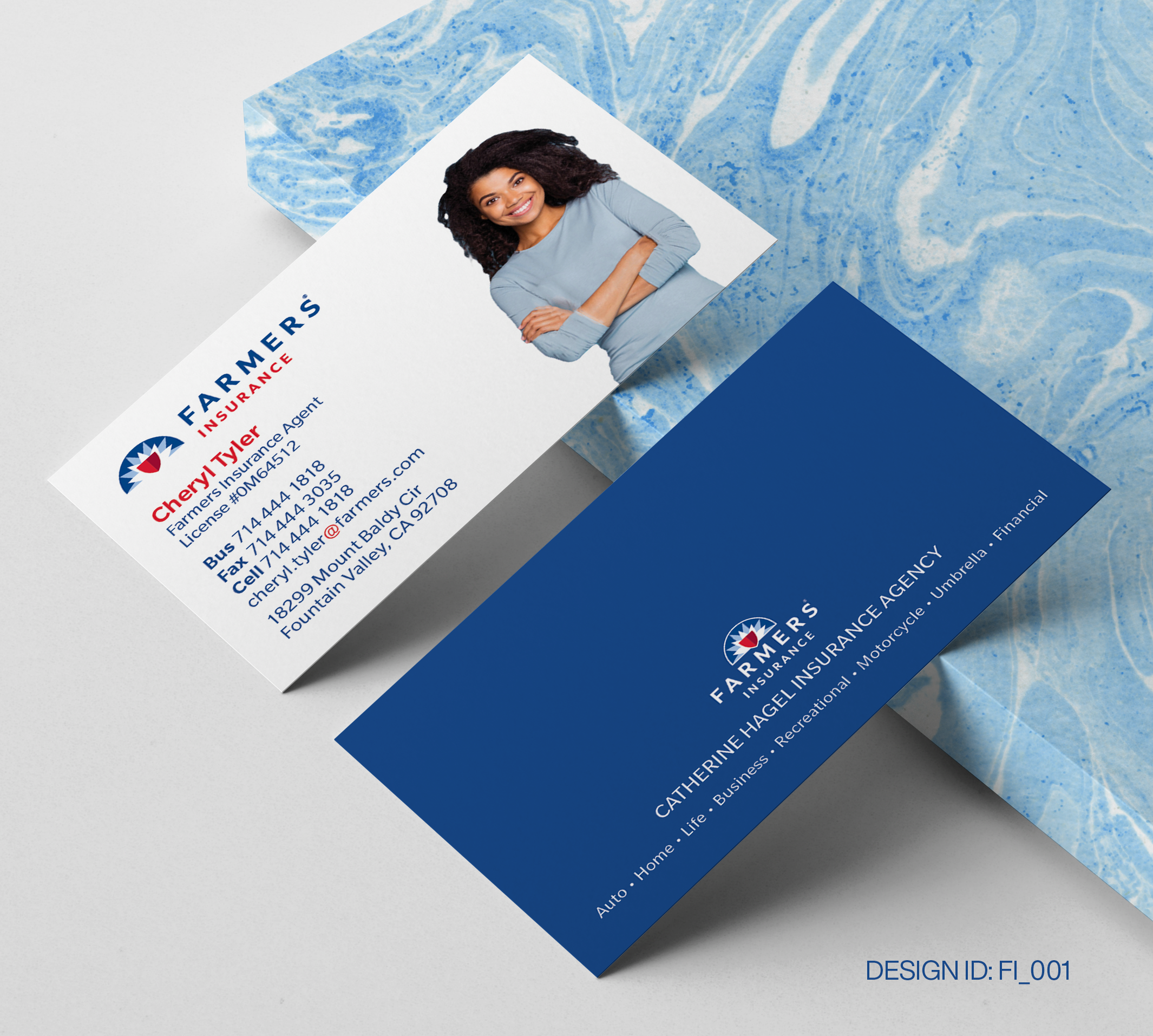 State Farm Business Card Design  001